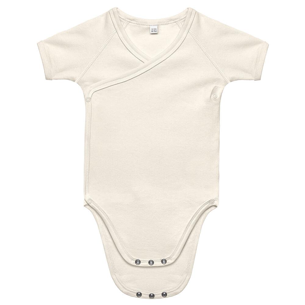 Baby Bio Kimono Kurzarm-Body