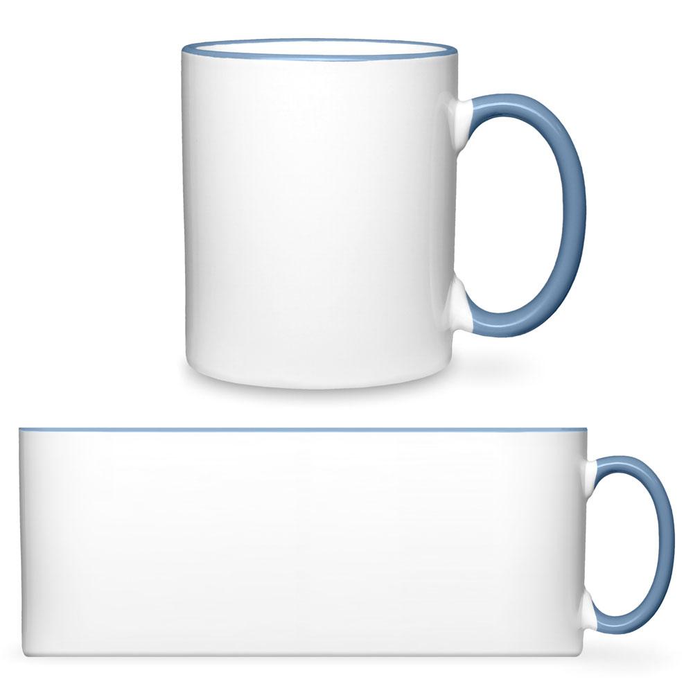 """Tasse 2-farbig """"Rim & Handle"""""""