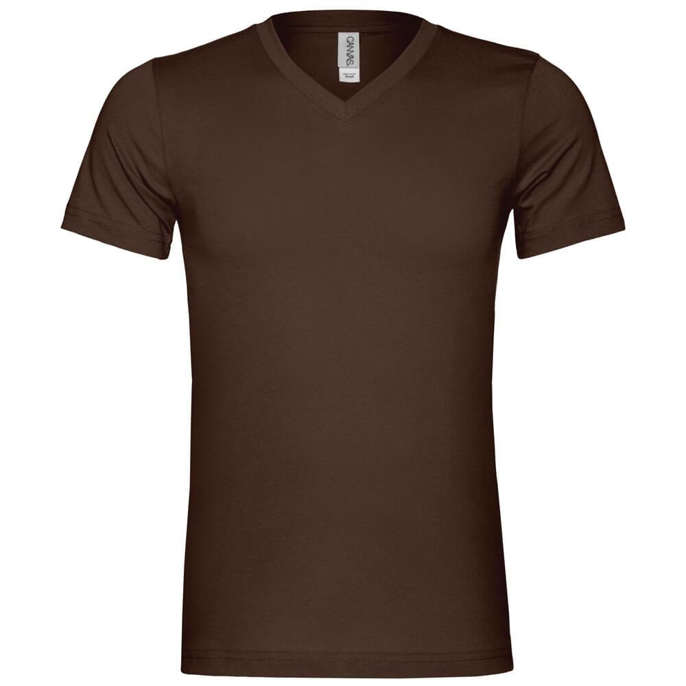 Männer V-Ausschnitt T-Shirt