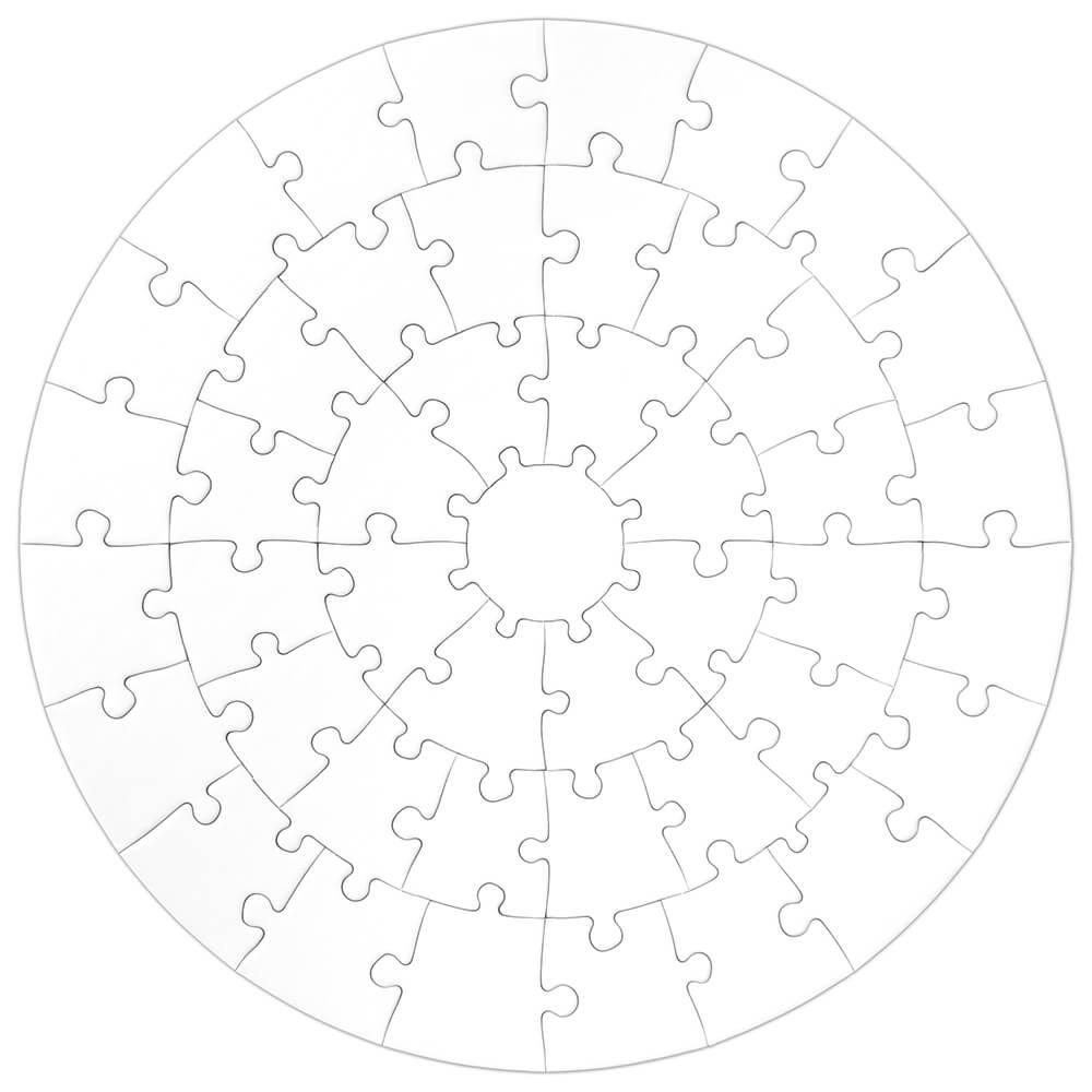 Puzzle Rund - 46 Teile