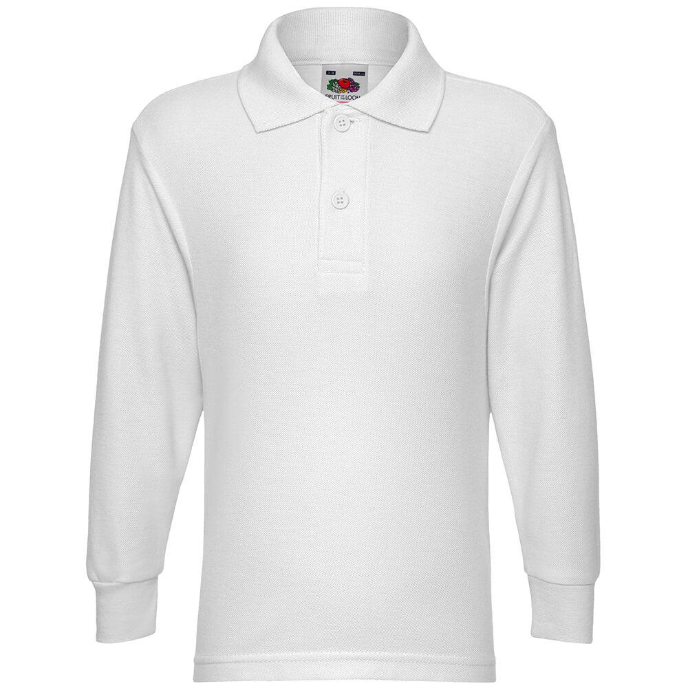Teenager 65/35 Langarm Poloshirt