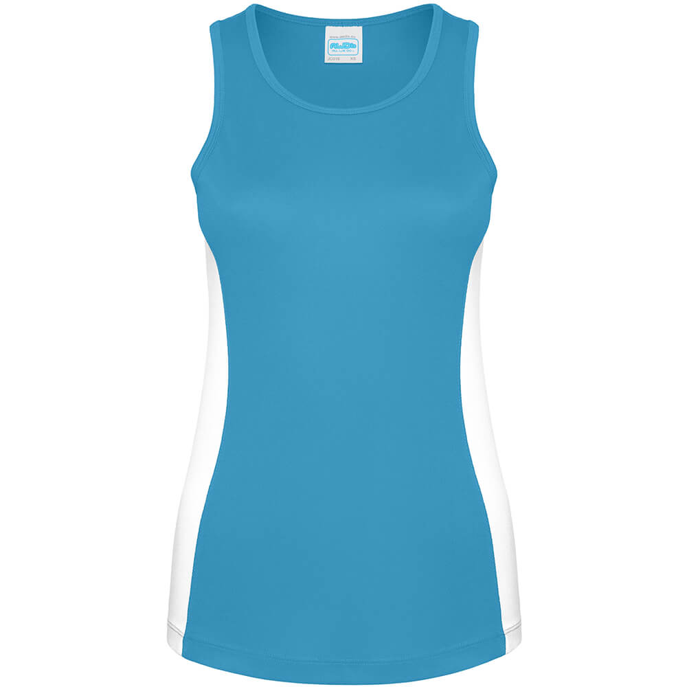 Frauen Kontrast Tank Top - Cool Neoteric